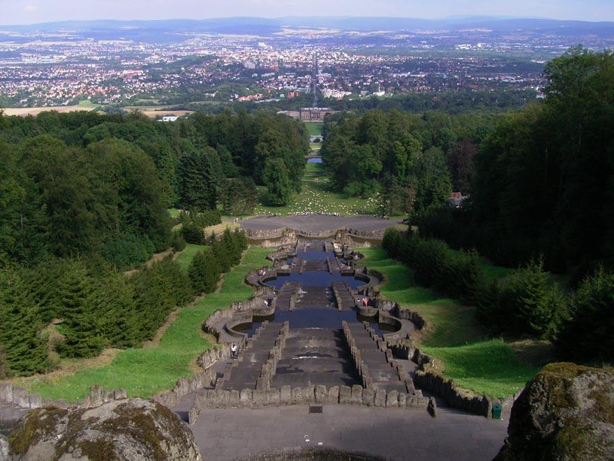 Германия. Парк Вильгельмсхёэ