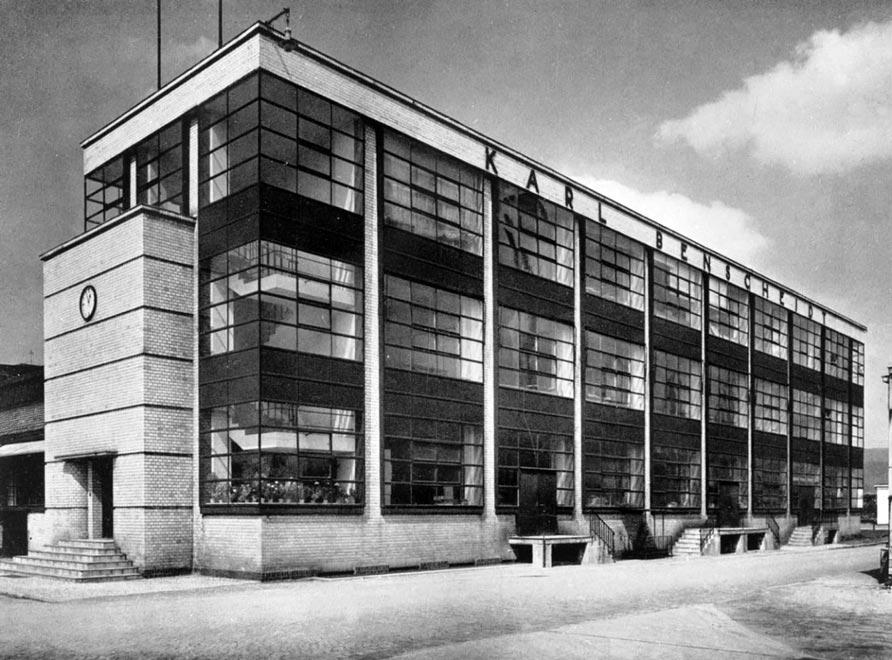Германия. Фабрика Фагус