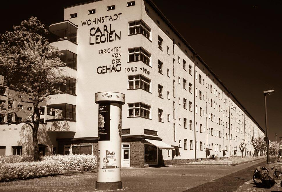Германия. Жилой комплекс Wohnstadt Carl Legien
