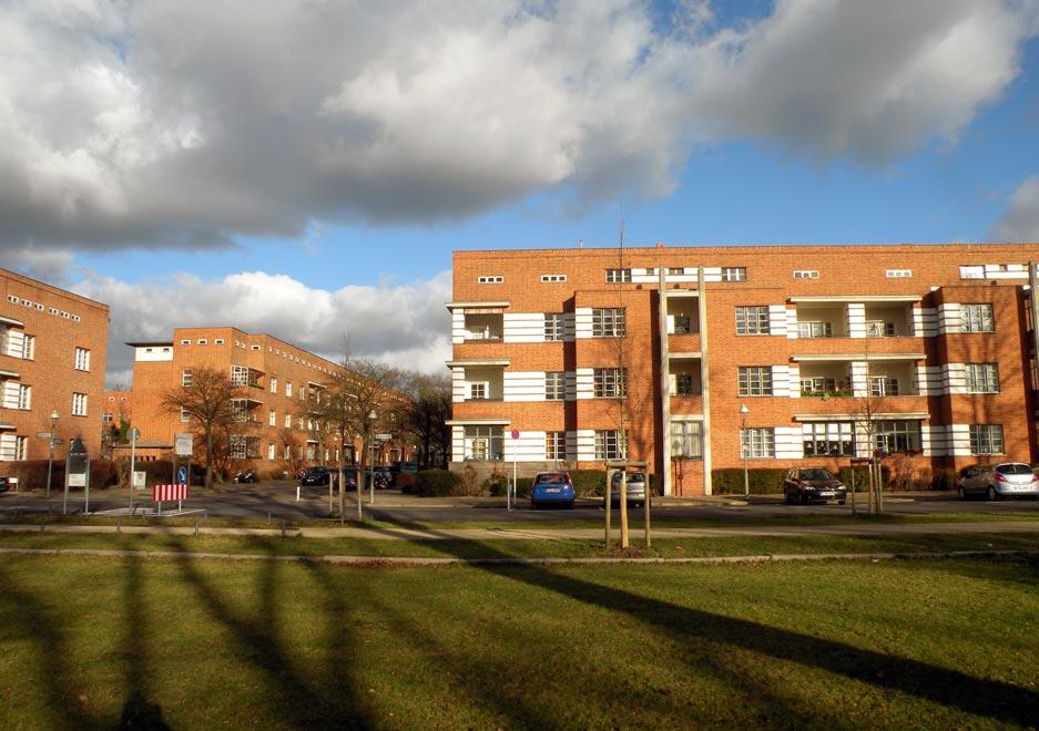 Германия. Жилой комплекс Siedlung Schillerpark