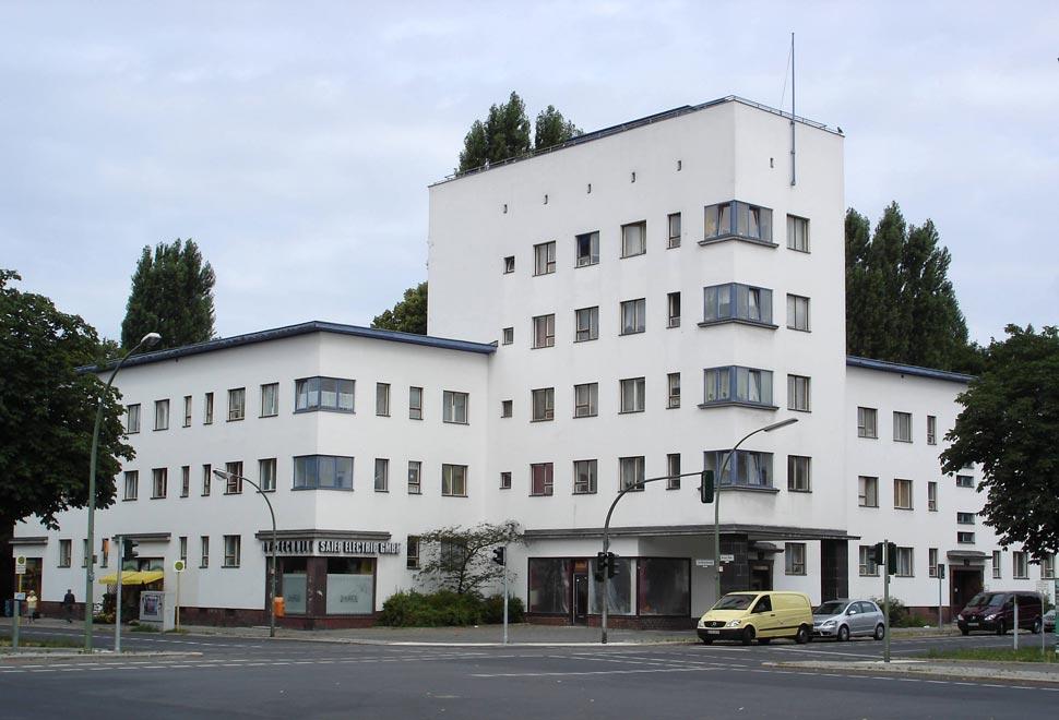 Германия. Жилой комплекс Weiße Stadt