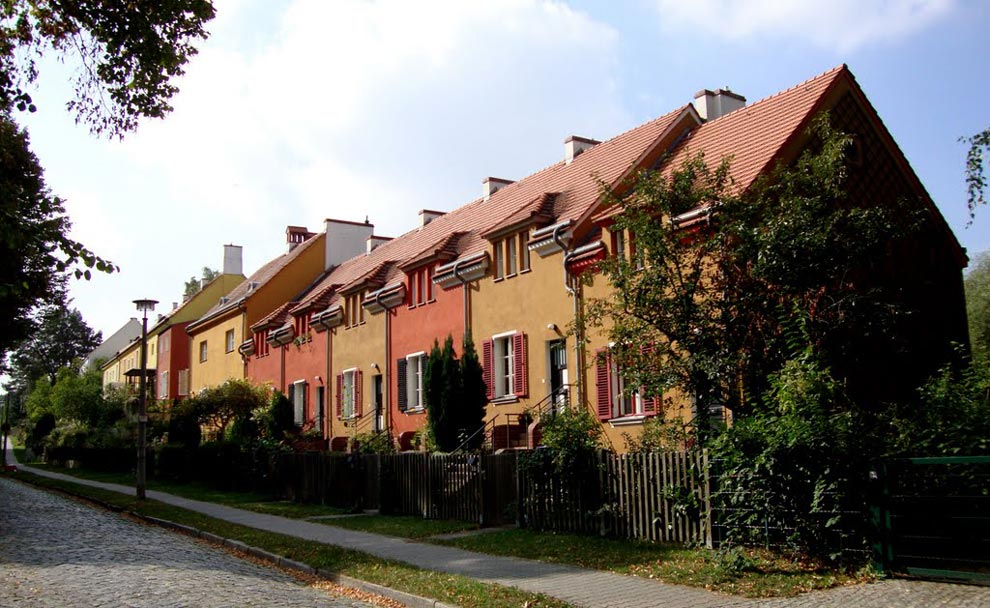 Германия. Жилой комплекс Gartenstadt Falkenberg