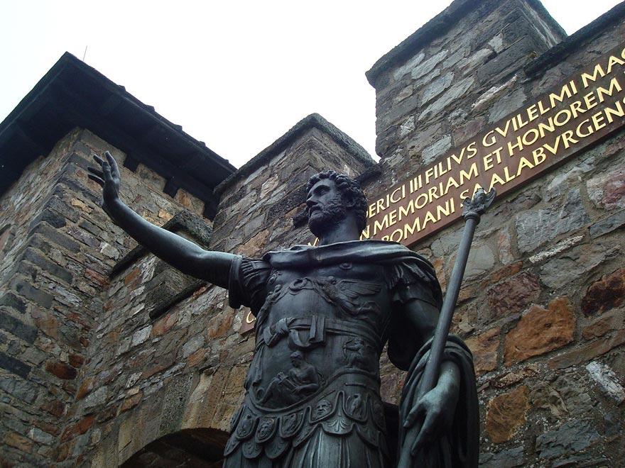 Германия. Укрепленные рубежи Римской империи в городе Заальбург