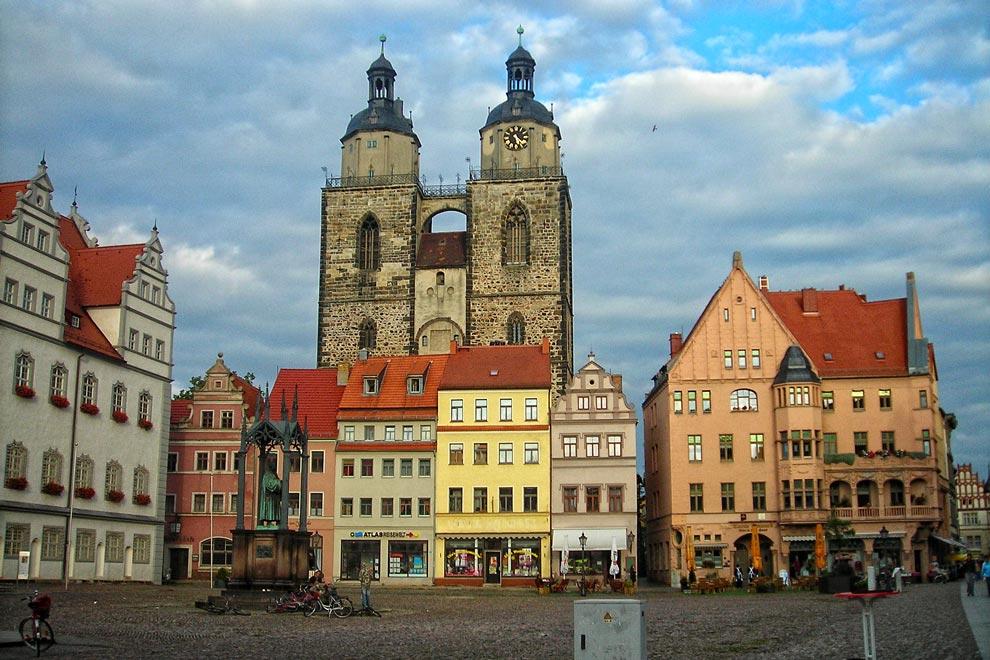 Городская Церковь Святой Марии в Виттенберге