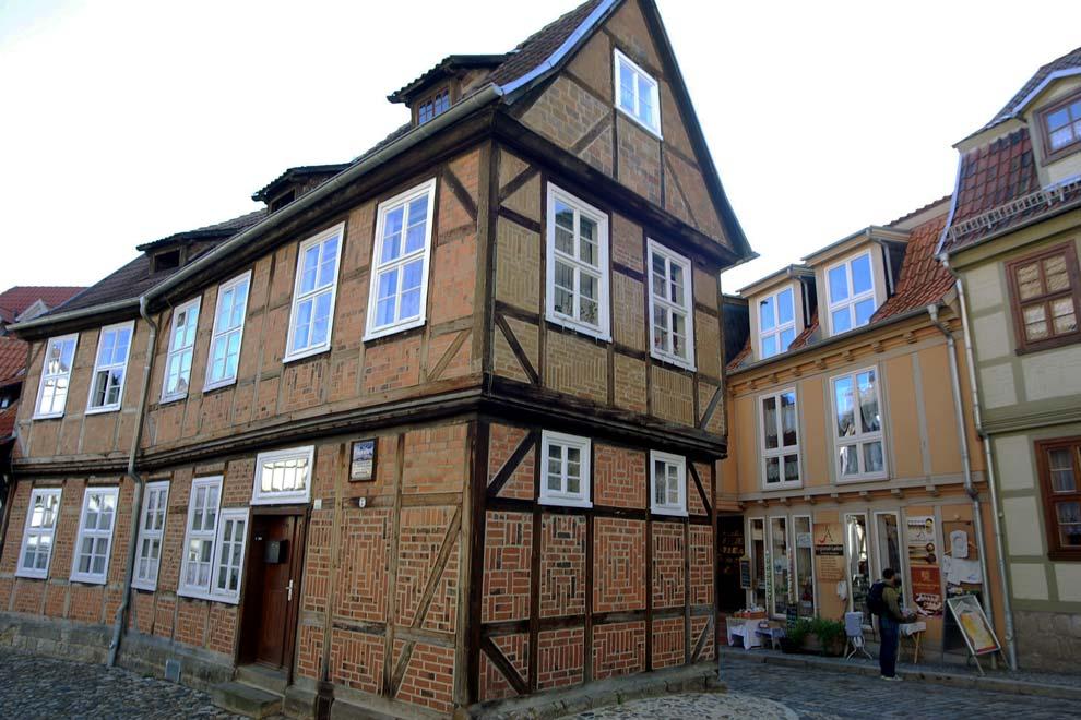 Фахверковые дома Кведлинбурга