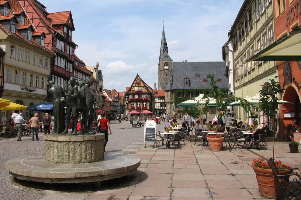 Старый город Кведлинбурга
