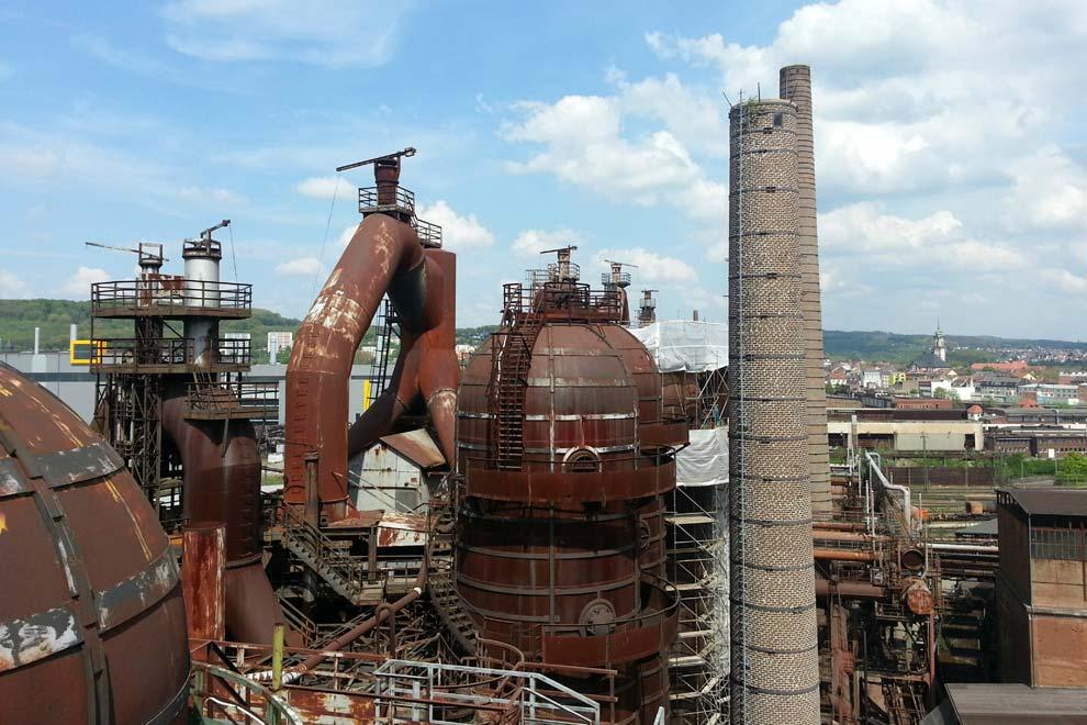 Металлургический завод в Фёльклингене
