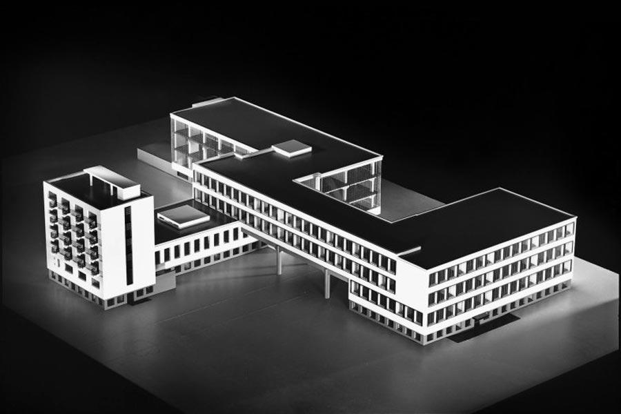 Проект здания школы Баухауз в Дессау