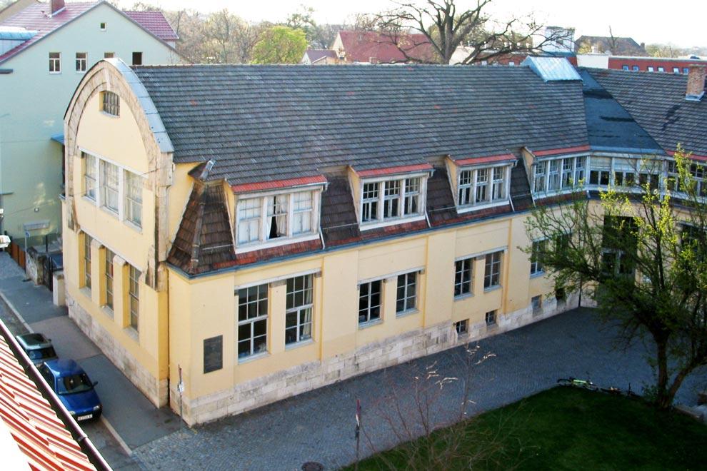 Дом-подкова Анри ван де Вельде в Веймаре