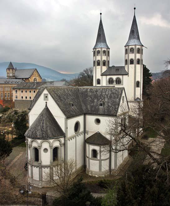Церковь Neuwerkkirche в Госларе