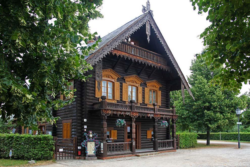 Русская деревня Александровка в Потсдаме