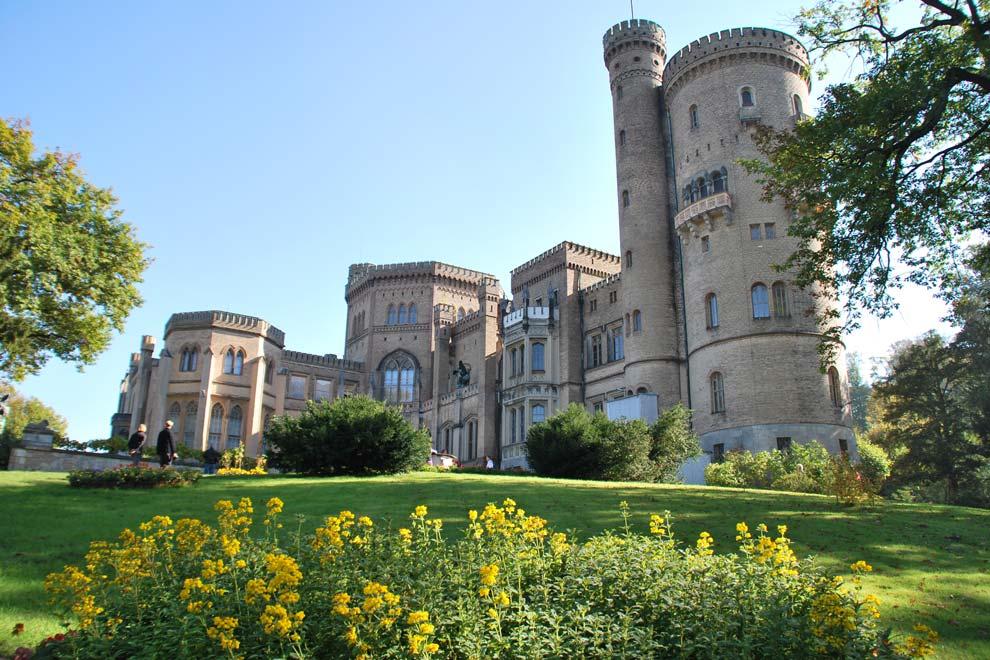 Дворец Бабельсберг в Потсдаме