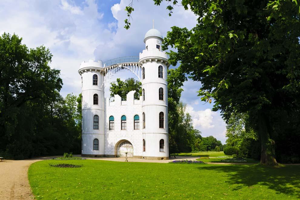 Замок на Павлиньем острове в Потсдаме