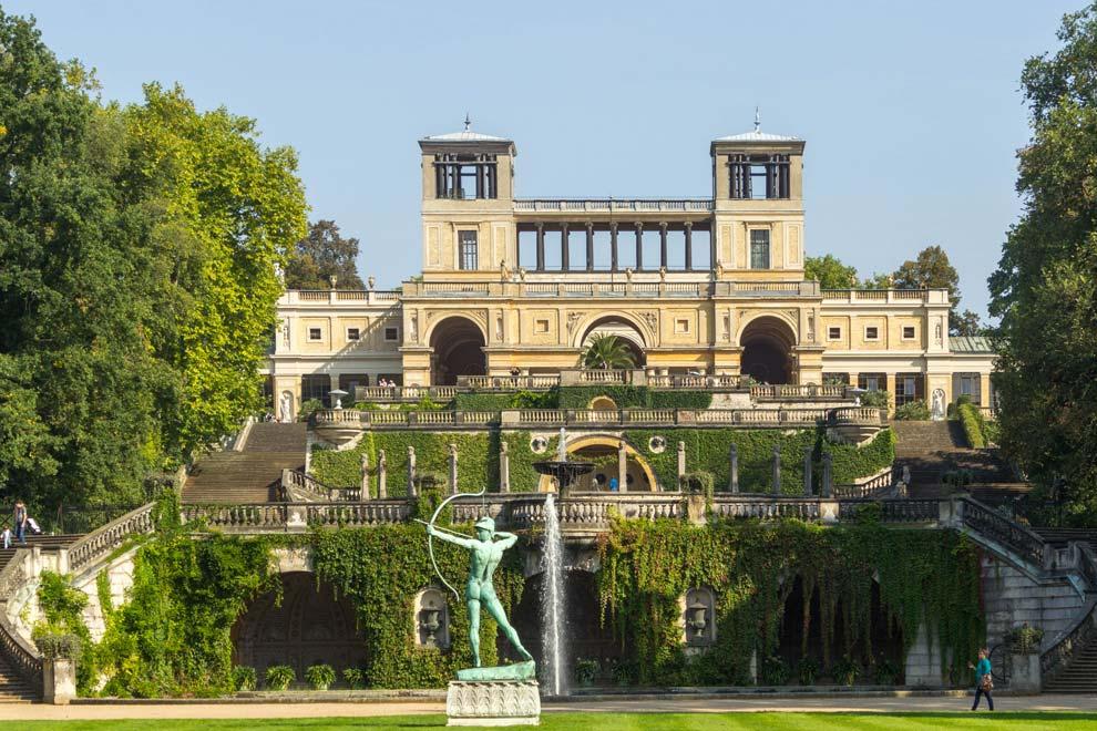 Оранжерейный дворец в Потсдаме